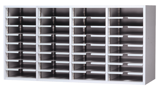 Wall Hung Office Sorter With 32 Pockets