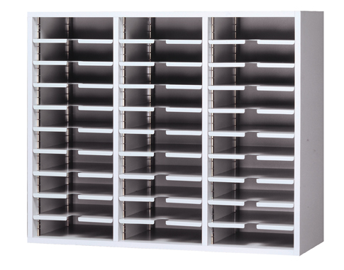 Wall Mounted Office Sorter With 30 Pockets